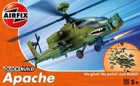 Вертолет Apache (быстрая сборка без клея)