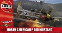 Американский истребитель F-51 Mustang