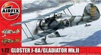 Истребитель Gloster J-8A Gladiator Mk.II