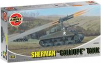 Модель танка T34 с системой залпового огня Calliope
