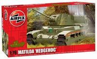 Модель танка Матильда с противолодочным бомбометом