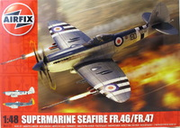 Истребитель Supermarine Seafire FR46/FR47