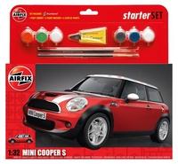 Подарочный набор с моделью автомобиля Mini Cooper S