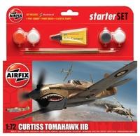 Подарочный набор с моделью самолета Curtiss P40B Warhawk