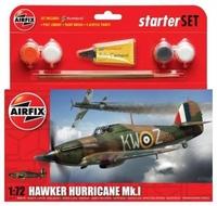 Подарочный набор с моделью самолета Hawker Hurricane Mk I