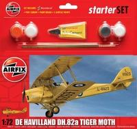 Подарочный набор с моделью самолета De Havilland D.H.82a Tiger Moth