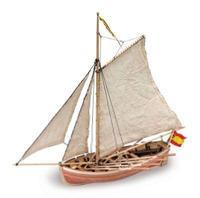 Шлюпка от корабля из дерева SAN JUAN NEPOMUCENO'S