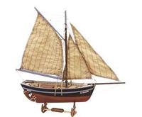 Модель деревянного парусника для склеивания BON RETOUR