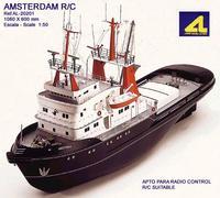 Сборная модель корабля AMSTERDAM (Амстердам). Возможна установка Р\У