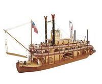 Модель деревянного корабля для склеивания MISSISSIPPI