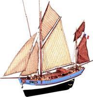 Модель деревянного парусника для склеивания MARIE JEANNE