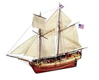 Модель деревянного корабля для склеивания INDEPENDENCE