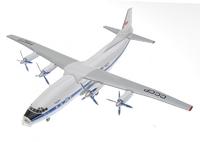Советский военно-транспортный самолет АН-12 Аэрофлот