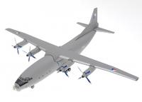 Советский военно-транспортный самолет АН-12 Чехия