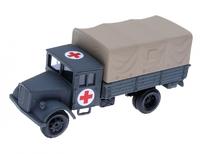 Автомобиль Deutz красный крест, серый