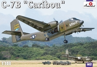 """Военно-транспортный самолет C-7B """"Caribou"""""""