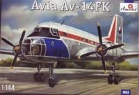 Советский самолет Avia Av-14 FK