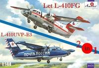 Самолеты Let L-410FG и L-410UVP-E3 (2 модели в комплекте)