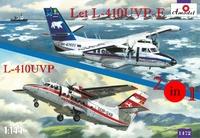 Самолеты Let L-410UVP-E и L-410UVP (2 модели в комплекте)