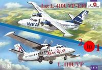 Самолеты Let L-410UVP-E10 и L-410UVP (2 модели в комплекте)