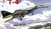 Ударно-разведывательный бомбардировщик-ракетоносец Т-4 (Сотка)
