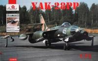 Советский самолет-глушитель Як-28ПП и книга в комплекте