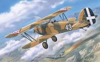 Hawker Fury Yugoslavian Морской истребитель-биплан ВВС Югославии