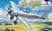 Bf-109X немецкий экспериментальный самолет
