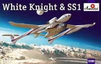 Космический корабль SS1 и авианосец White Knight