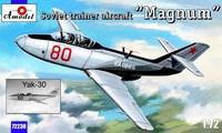 """Советский учебно-тренировочный самолет Як-30 """"Магнум"""""""