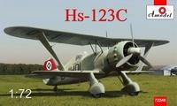 Пикирующий бомбардировщик Henschel Hs 123C