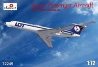 Пассажирский самолет Tupolev Tu-134 LOT airlines