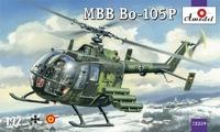 Вертолет MBB Bo-105P, военная версия
