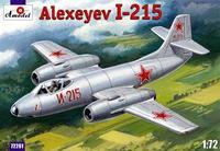 Истребитель-перехватчик И-215 / Alexeyev I-215
