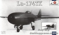 Реактивный истребитель Lavochkin La-174TK