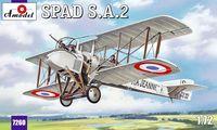SPAD A2 Французский истребитель-биплан