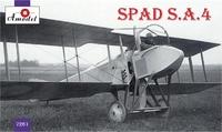SPAD S.A.4 Французский истребитель-биплан