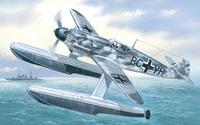 Messerschmitt Bf-109W Германский поплавковый истребитель