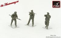 Ливийские повстанцы  (3 фигуры)