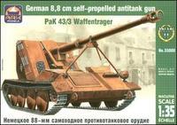 ARK35008 PaK 43/3 Waffentrager German 88mm SPG