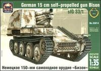 ARK35014 Bison German 150mm self-propelled gun
