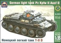 ARK35016 Pz.Kpfw II Ausf.D German light tank