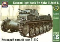 Немецкий легкий танк Pz.Kpfw II Ausf.C