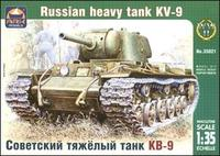 ARK35021 KV-9 WWII Russian heavy tank