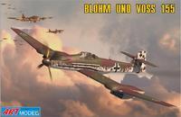 ART7202 Blohm und Voss 155V2 WWII German interceptor