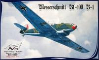 AV72009 Messerschmitt Bf-109 B-1 WWII German fighter