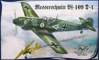 AV72010 Messerschmitt Bf-109D-1 WWII German fighter