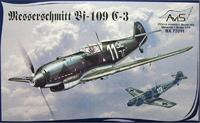 AV72011 Messerschmitt Bf-109C-3 WWII German fighter