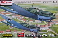 Бомбардировщик Heinkel He-70 Luftwaffe
