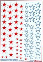 Декаль: Опознавательные знаки ВВС России (образца 2010 года)